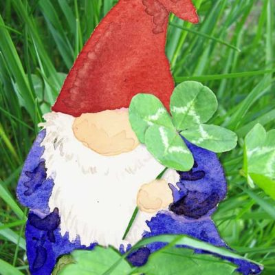 Gnome in Clover